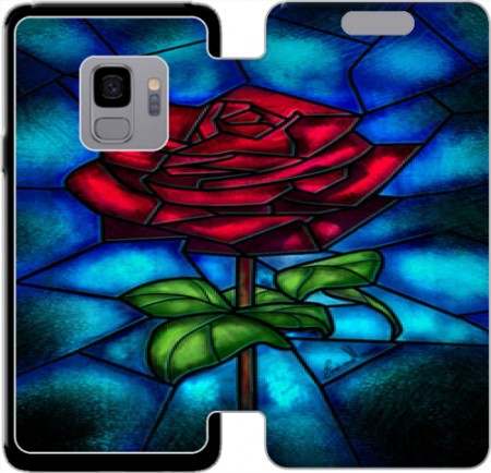Wallet Case Eternal Rose for Samsung Galaxy S9