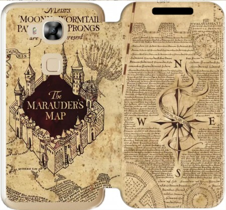 Wallet Case Marauder Map for Huawei G8