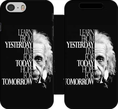 Wallet Case Albert Einstein for Iphone 6 4.7
