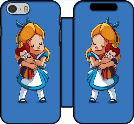 Wallet Case Alice Free Hugs for Iphone 6 4.7