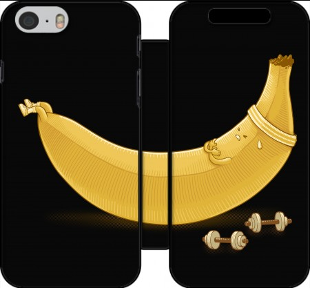 Wallet Case Banana Crunches for Iphone 6 4.7
