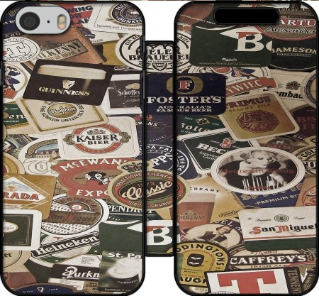 Wallet Case Beers of the world for Iphone 6 4.7
