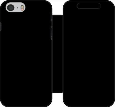 Wallet Case Black for Iphone 6 4.7