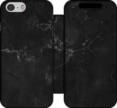 Wallet Case Black Marble for Iphone 6 4.7