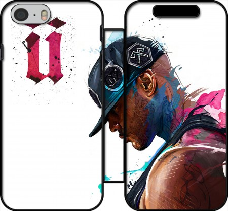 Wallet Case Booba Fan Art Rap for Iphone 6 4.7