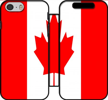 Wallet Case Flag Canada for Iphone 6 4.7