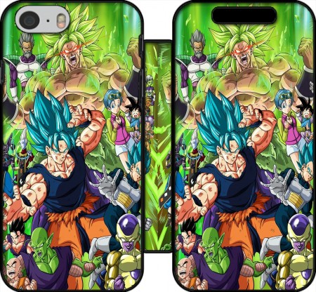 Wallet Case Dragon Ball Super for Iphone 6 4.7