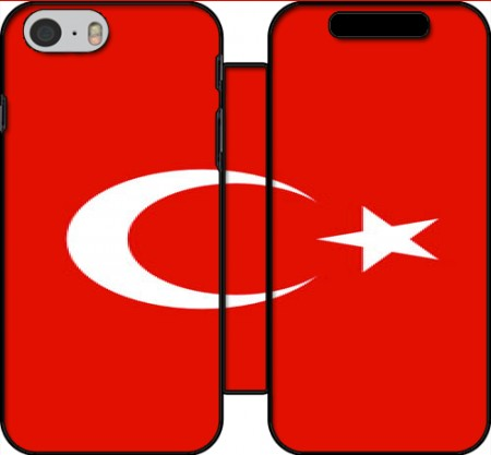 Wallet Case Flag of Turkey for Iphone 6 4.7