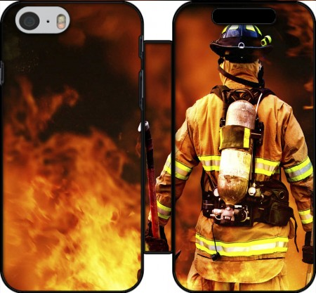 Wallet Case Firefighter for Iphone 6 4.7