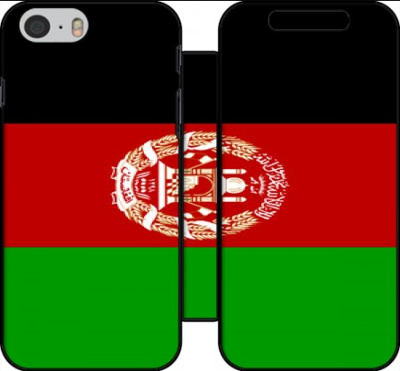 Wallet Case Flag Afghanistan for Iphone 6 4.7