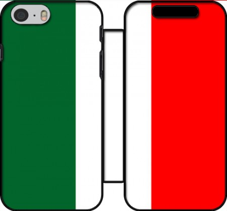 Wallet Case Flag Italy for Iphone 6 4.7