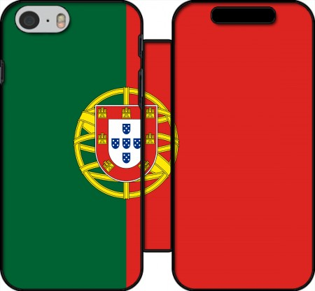 Wallet Case Flag Portugal for Iphone 6 4.7