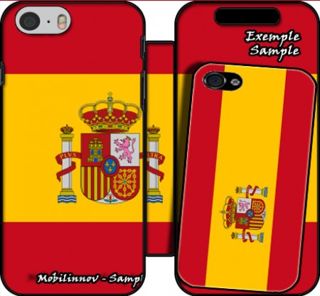 Wallet Case Flag Spain for Iphone 6 4.7