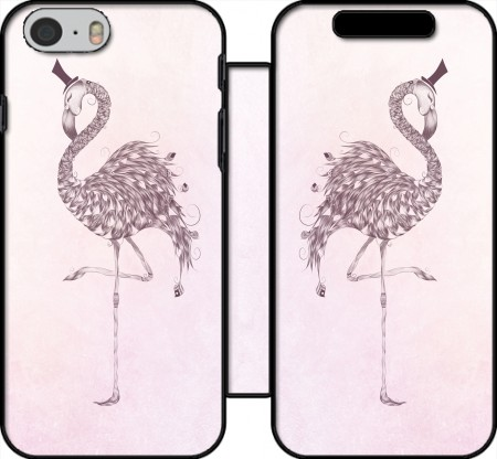 Wallet Case Flamingo for Iphone 6 4.7
