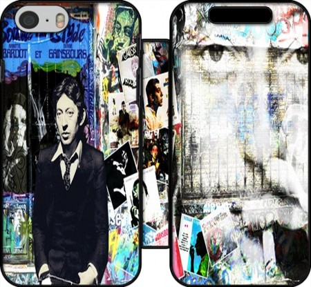 Wallet Case Gainsbourg Smoke for Iphone 6 4.7