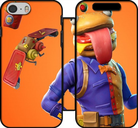 Wallet Case Hamburger Fortnite skins Beef Boss for Iphone 6 4.7