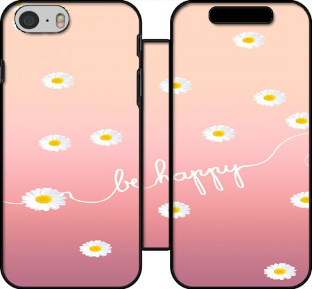 Wallet Case HAPPY DAISY SUNRISE for Iphone 6 4.7