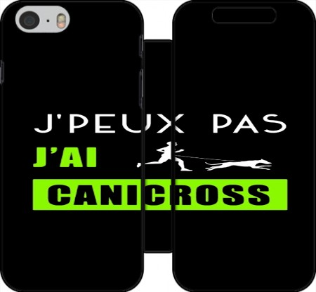 Wallet Case Je peux pas jai canicross for Iphone 6 4.7