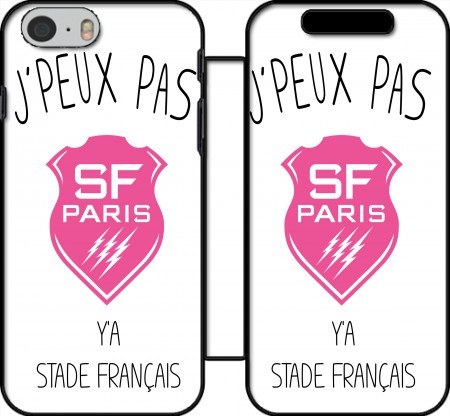 Wallet Case Je peux pas ya stade francais for Iphone 6 4.7
