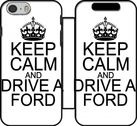 Wallet Case Keep Calm And Drive a Ford for Iphone 6 4.7