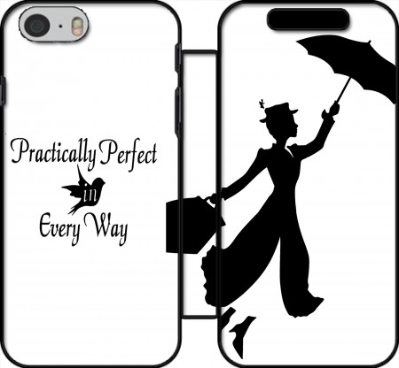 Wallet Case Mary Poppins Perfect in every way for Iphone 6 4.7