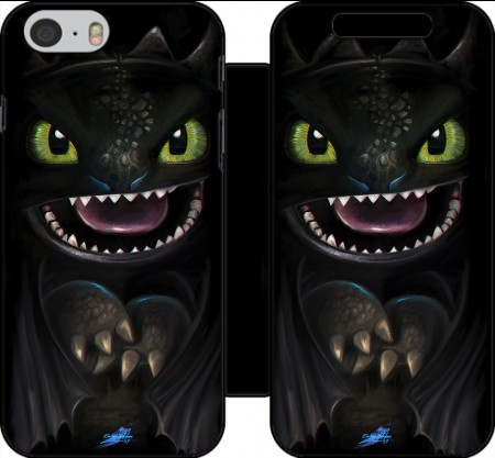 Wallet Case Night fury for Iphone 6 4.7