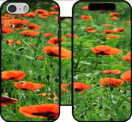 Wallet Case POPPY FIELD for Iphone 6 4.7