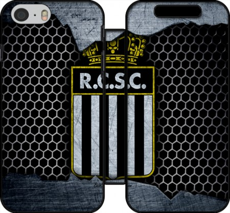 Wallet Case RCSC Charleroi Broken Wall Art for Iphone 6 4.7
