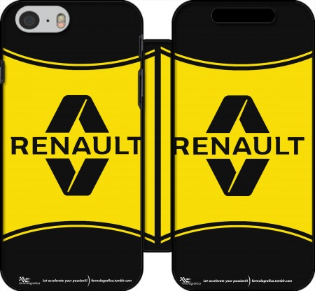 Wallet Case Renault Sports for Iphone 6 4.7