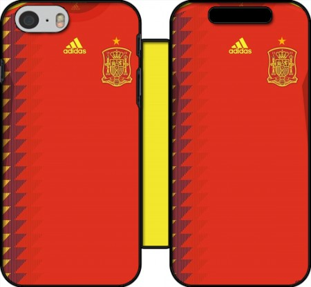 Wallet Case Spain World Cup Russia 2018  for Iphone 6 4.7