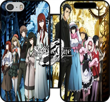 Wallet Case Steins Gate for Iphone 6 4.7