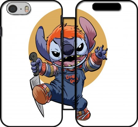 Wallet Case Stitch X Chucky Halloween for Iphone 6 4.7