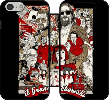 Wallet Case The Big Lebowski for Iphone 6 4.7