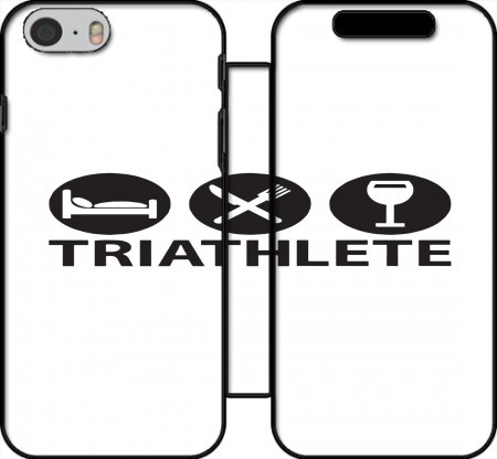Wallet Case Triathlete Apero du sport for Iphone 6 4.7