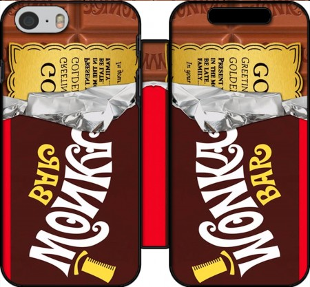 Wallet Case Willy Wonka Chocolate BAR for Iphone 6 4.7