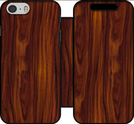 Wallet Case Wood for Iphone 6 4.7