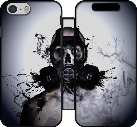 Wallet Case Zombie Warrior for Iphone 6 4.7
