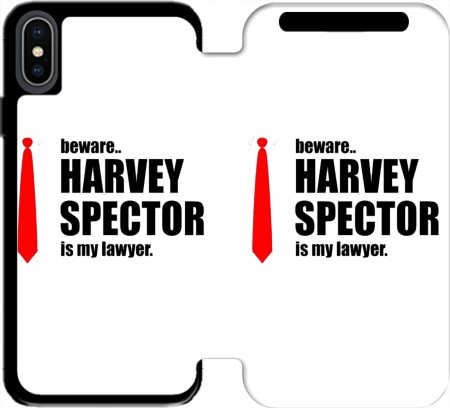 Wallet Case Beware Harvey Spector is my lawyer Suits for Iphone X / Iphone XS
