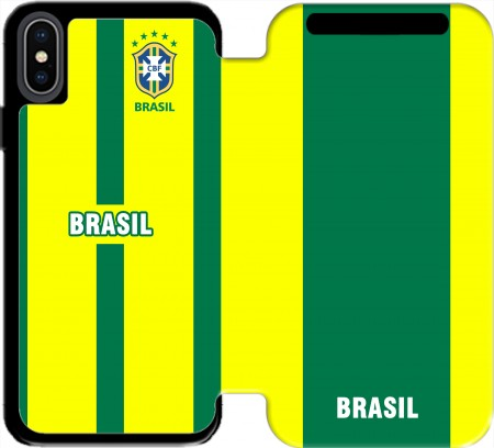 Wallet Case Brazil Selecao Home for Iphone X / Iphone XS
