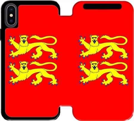 Wallet Case Drapeau Normand for Iphone X / Iphone XS