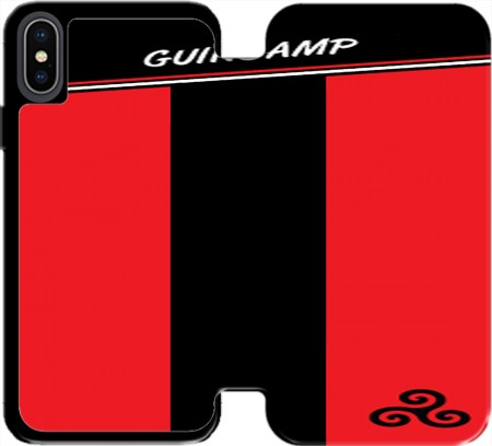 Wallet Case Guingamps Maillot Football for Iphone X / Iphone XS