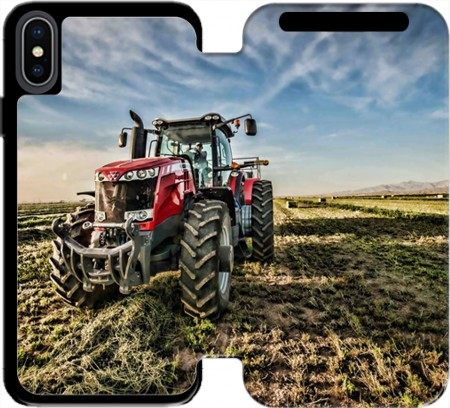 Wallet Case Massey Fergusson Tractor for Iphone X / Iphone XS