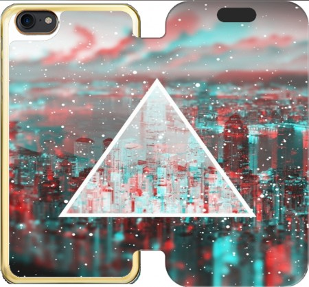 Wallet Case 3D World for Iphone 7 / Iphone 8
