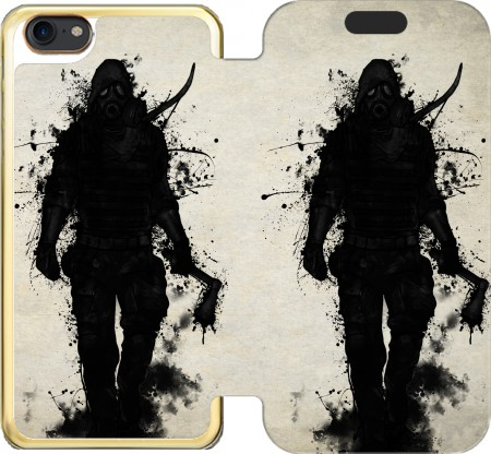 Wallet Case Apocalypse Hunter for Iphone 7 / Iphone 8