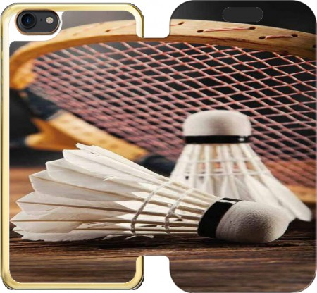 Wallet Case Badminton Champion for Iphone 7 / Iphone 8