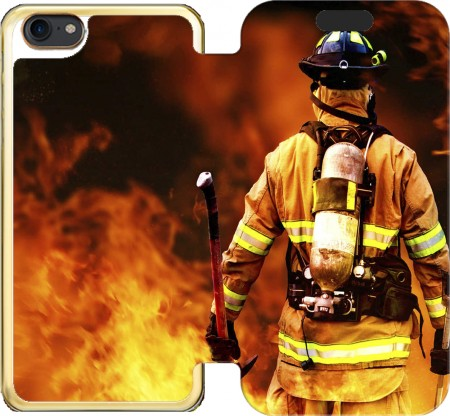 Wallet Case Firefighter for Iphone 7 / Iphone 8