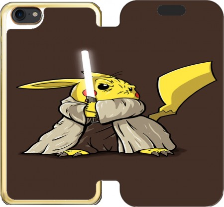 Wallet Case Master Pikachu Jedi for Iphone 7 / Iphone 8