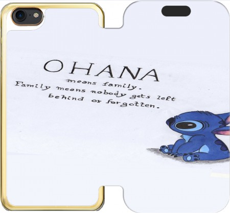 Wallet Case Ohana Means Family for Iphone 7 / Iphone 8