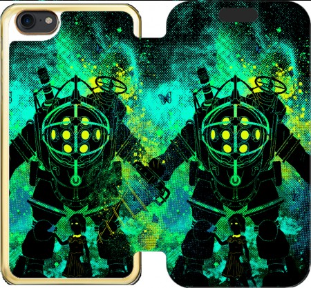 Wallet Case Rapture Art for Iphone 7 / Iphone 8