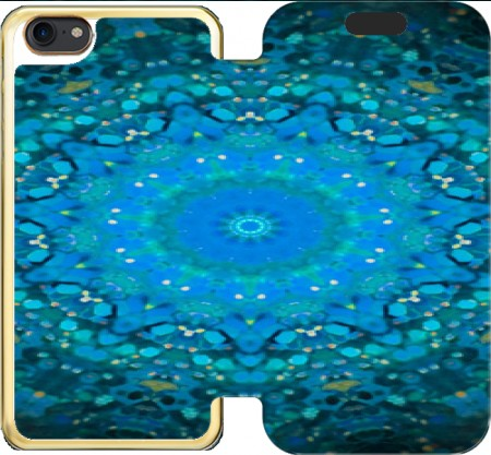 Wallet Case SEAFOAM BLUE for Iphone 7 / Iphone 8